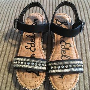 Sam Edelman Little girl platform sandals